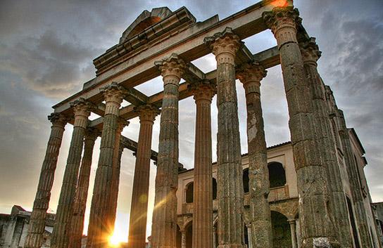 templo de diana 1 - Descubre Mérida